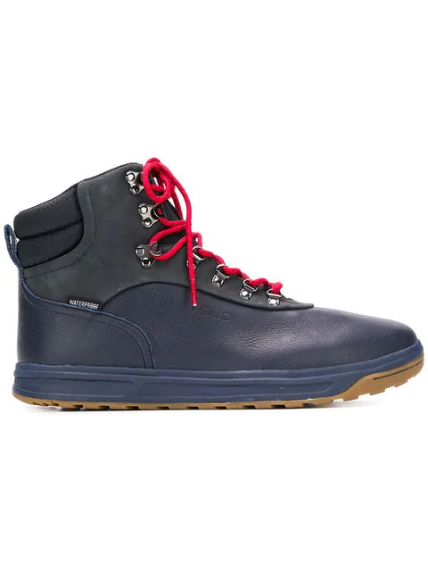 Polo Ralph Lauren Ankle Boots In Blue