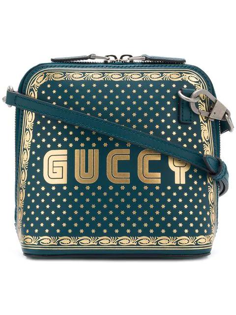 Gucci Guccy Mini Crossbody Bag - Blue
