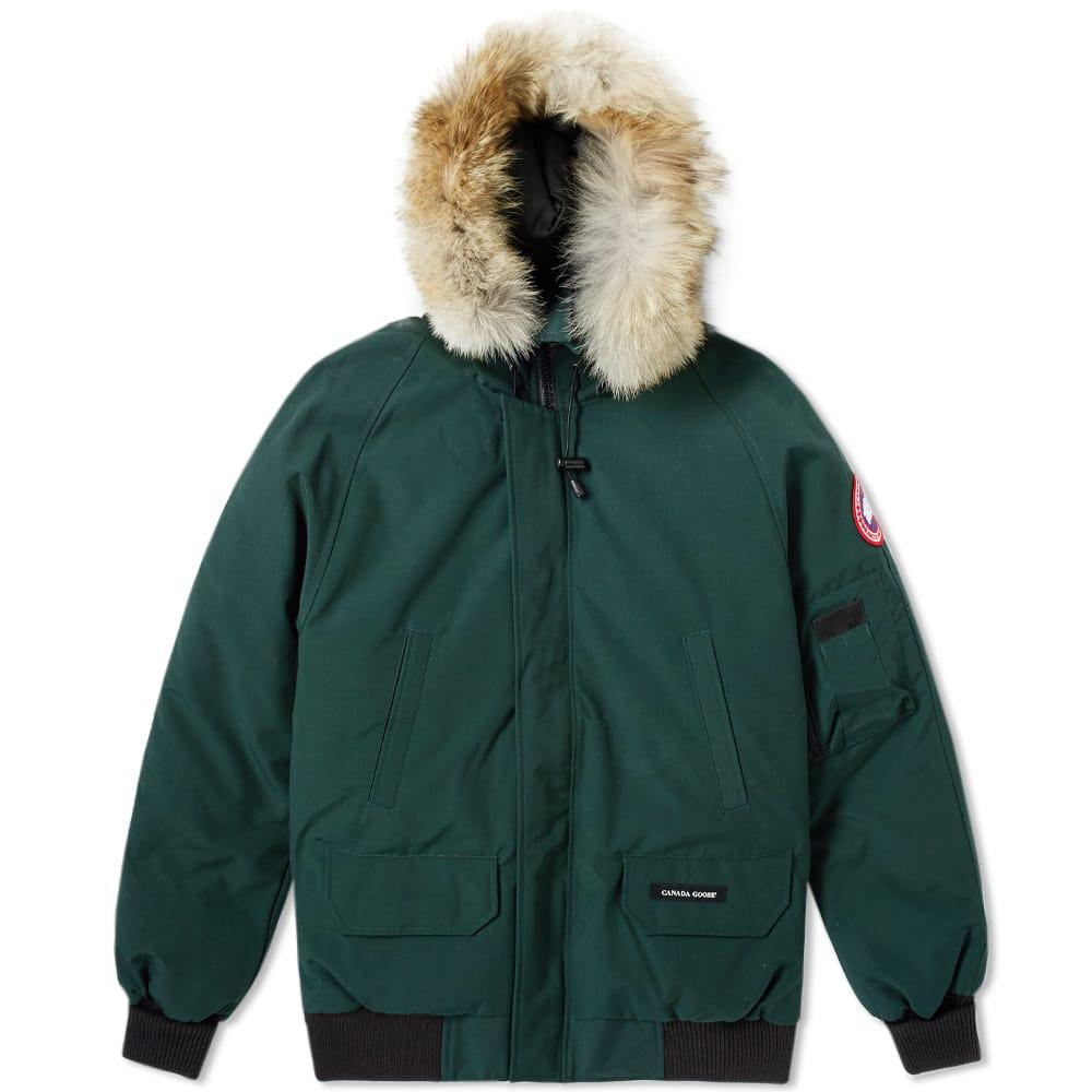 Canada Goose Chilliwack Bomber Jacket In Green