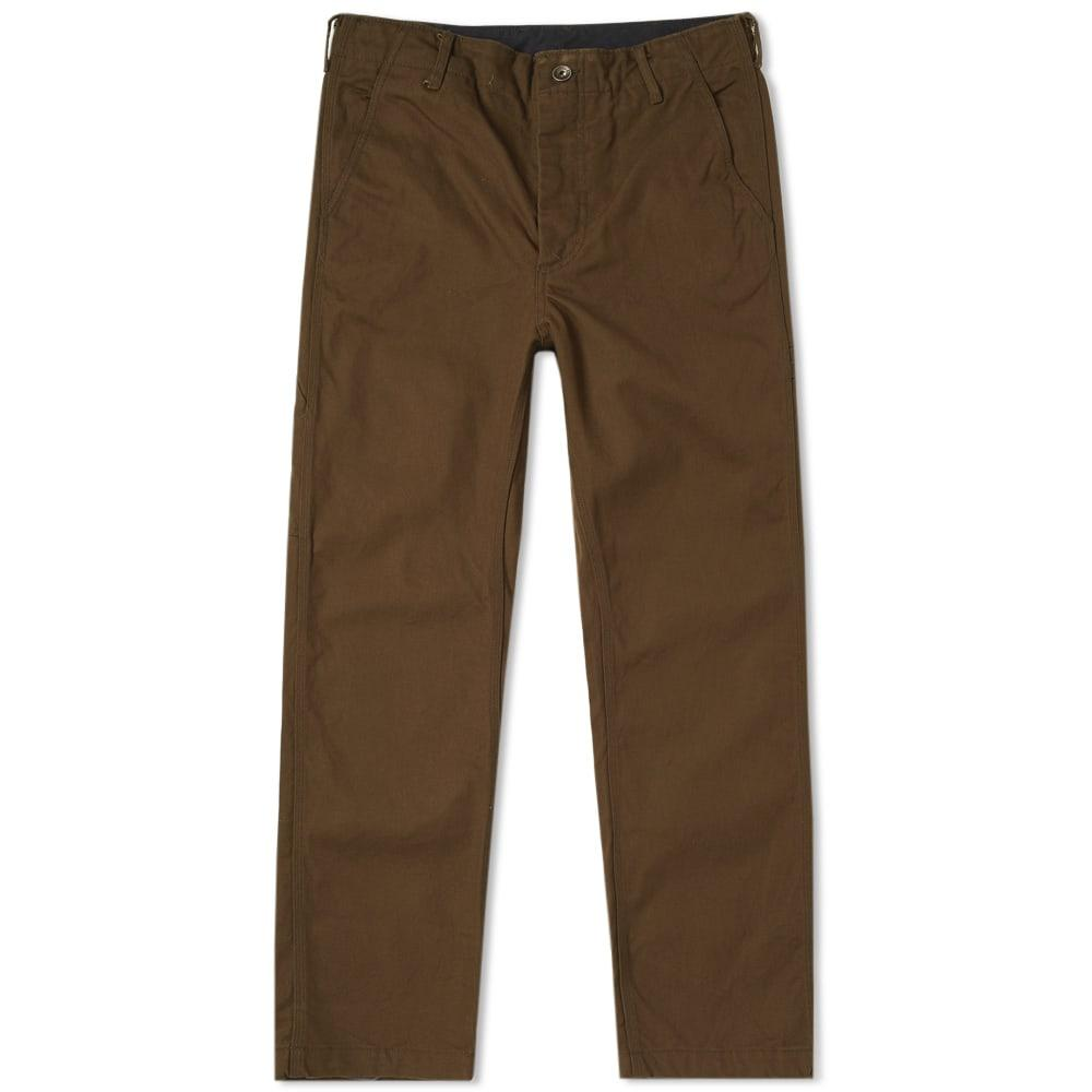 Engineered Garments Logger Cargo Pant In Green