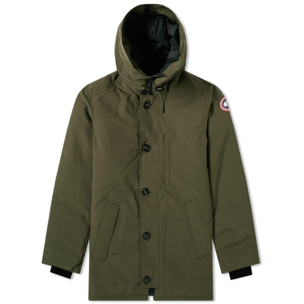 Canada Goose Chateau No Fur Parka In Green