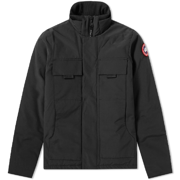 Canada Goose Forester Jacket In Black