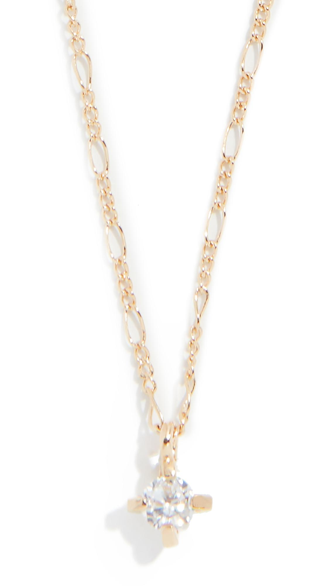 Cloverpost Brew Necklace In Yellow Gold