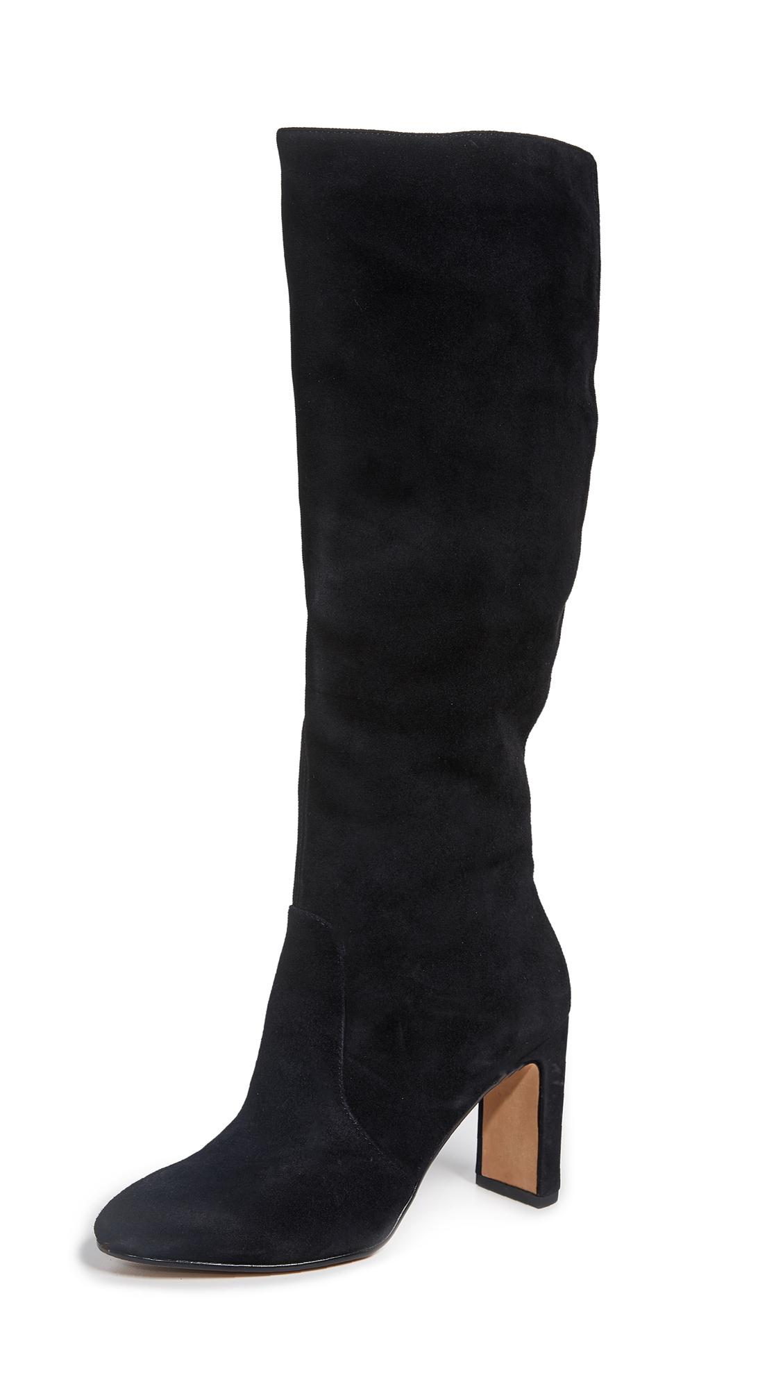 Dolce Vita Coop Tall Boots In Black
