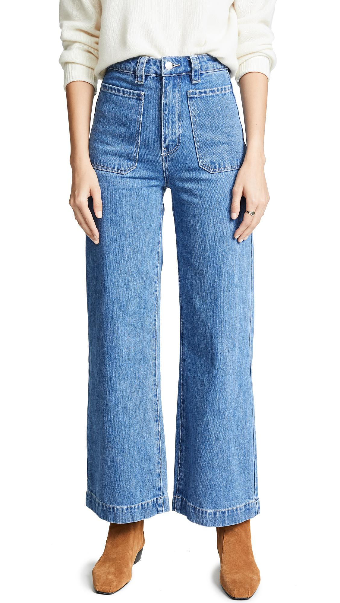 Rolla's Sailor Jeans In Crystal Blue