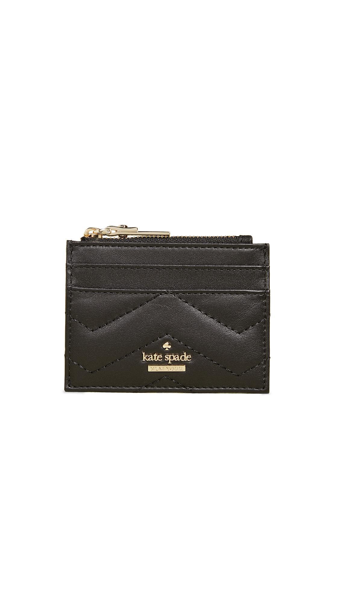 Kate Spade Reese Park Lalena Card Case In Black