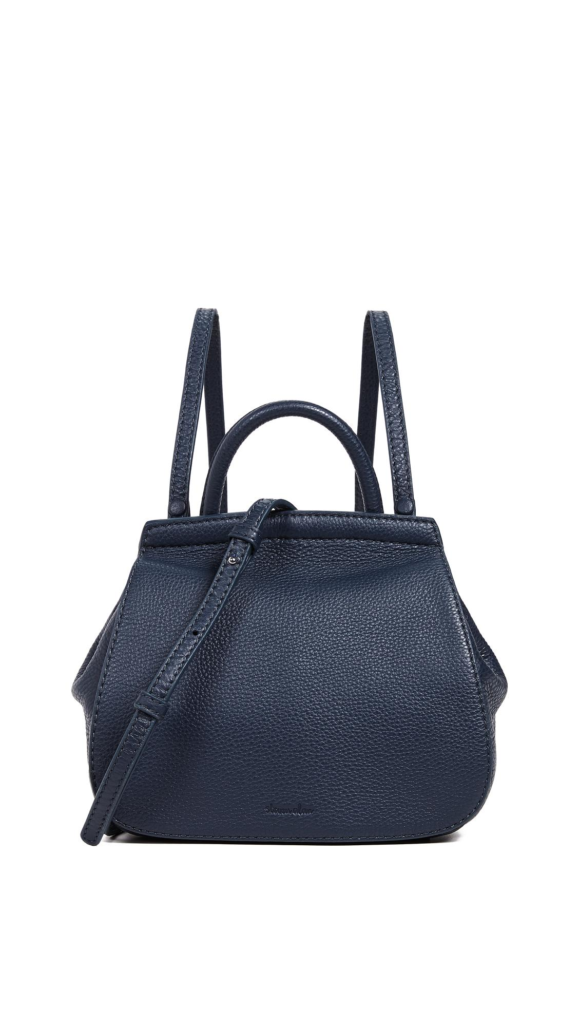 Steven Alan Kate Mini Convertible Backpack In Blue Nights