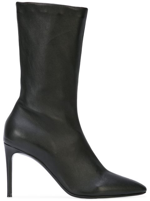Paco Rabanne Glove Ankle Boots - Black