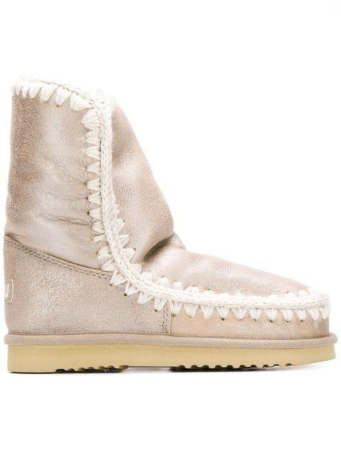 Mou Snow Boots In Neutrals