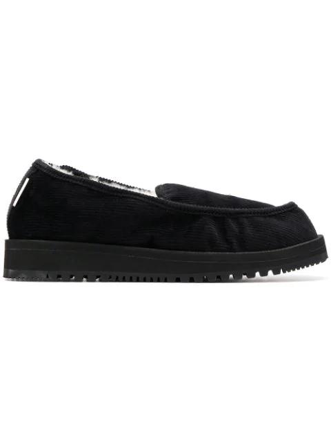 Suicoke Ssd-comwpab Loafers - Black
