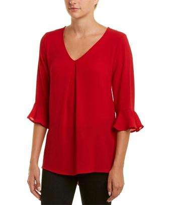 Bobeau Top In Red