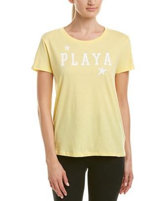 Chrldr Graphic T-shirt In Yellow
