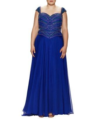 Mac Duggal Macduggal Embellished Sweetheart Gown In Nocolor