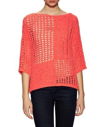 Leo & Sage Patchwork Sweater In Nocolor