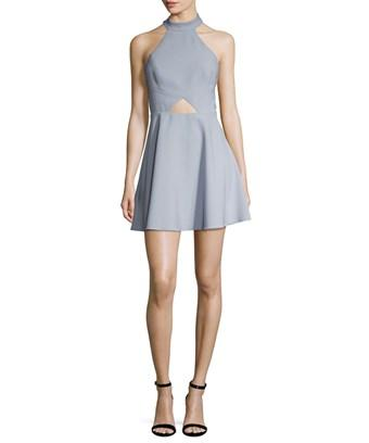 Jay Godfrey Edison Flared Dress In Nocolor