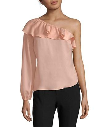 Nanette Lepore Ruffle One In Nocolor
