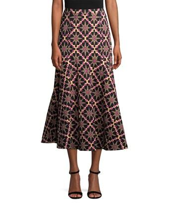 Temperley London Long Onyx Evening Skirt In Nocolor