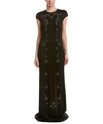 Tadashi Shoji Gown In Metallic