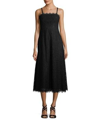 Temperley London Lace Midi Dress In Nocolor