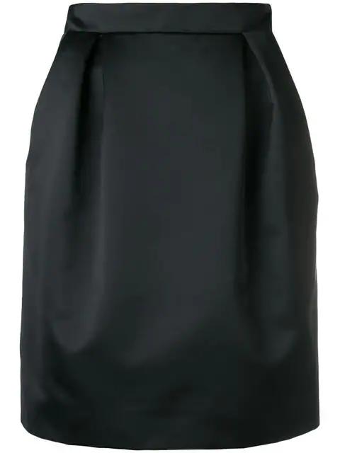 Nina Ricci Tulip Skirt - Black