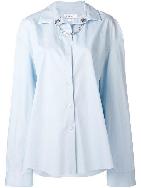 Act N°1 Button-up Shirt - Blue