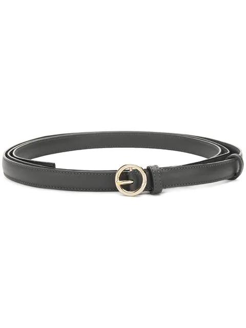 Nina Ricci Classic Buckled Belt - Grey