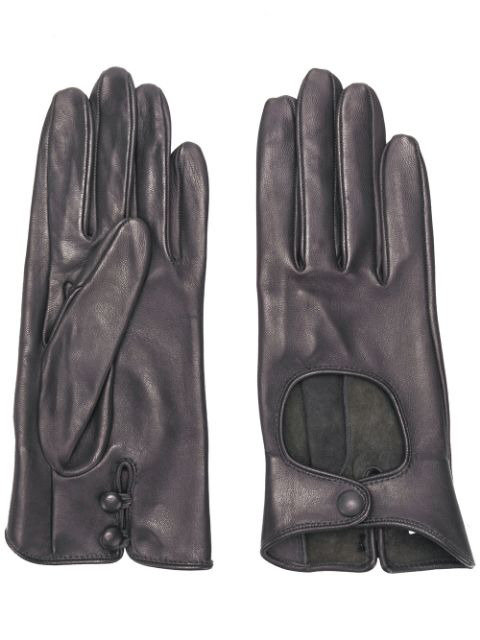Nina Ricci Driving Gloves In Grey