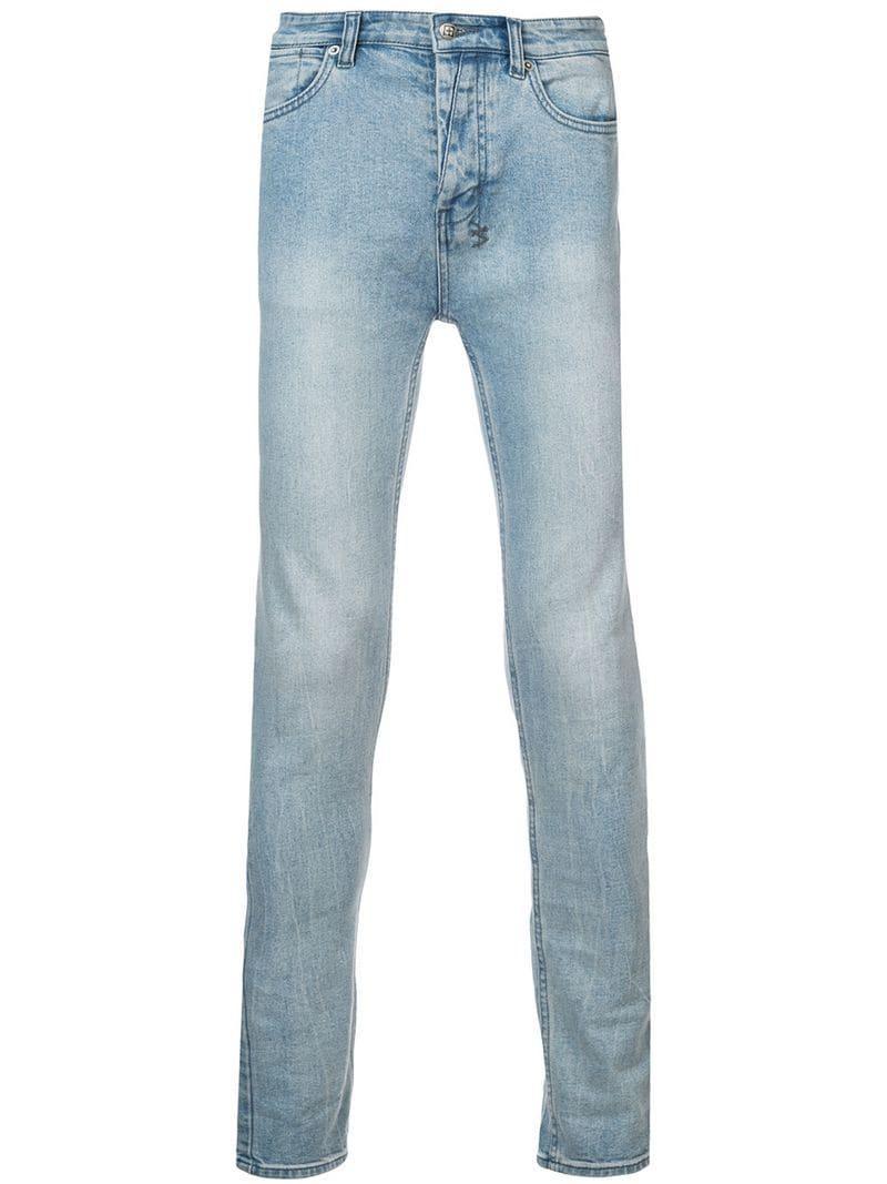 Ksubi Long Skinny Jeans - Blue