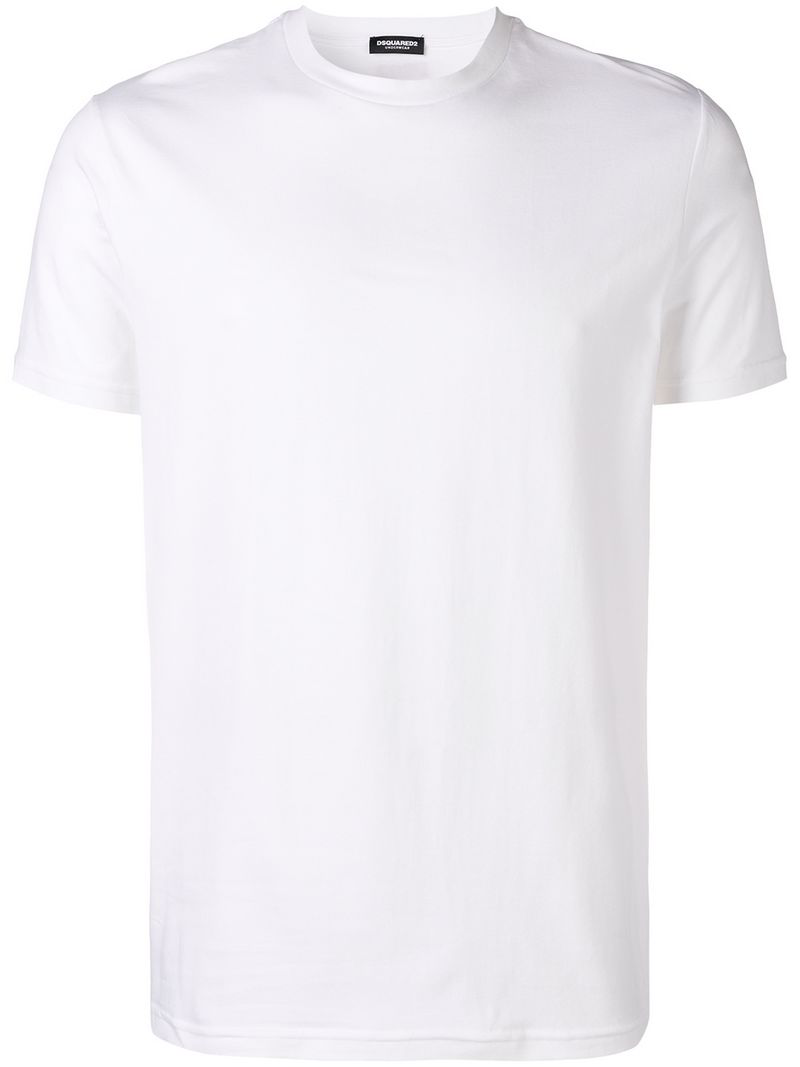 Dsquared2 Plain T-shirt - White