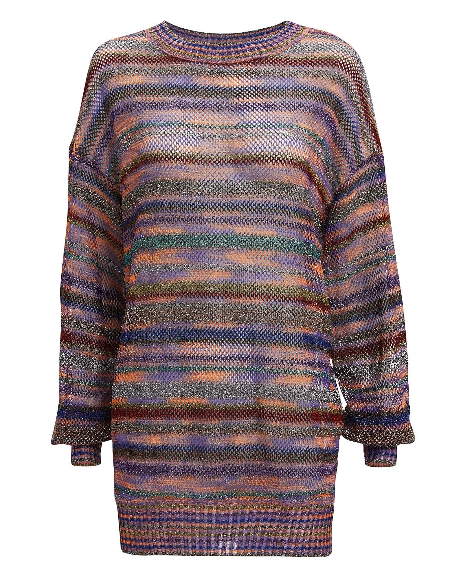 Missoni LamÉ Stripe Pullover