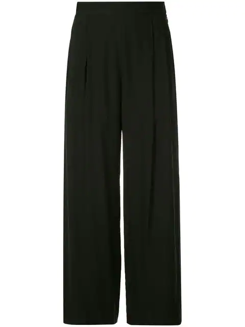 H Beauty & Youth H Beauty&youth High-waist Flared Trousers - Black