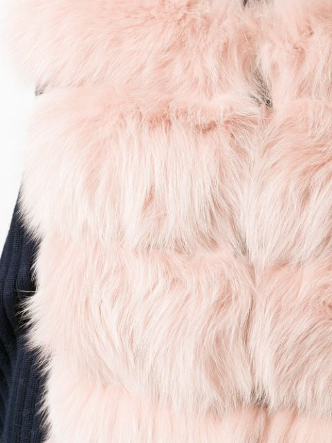 S.w.o.r.d 6.6.44 Oversized Gilet - Pink