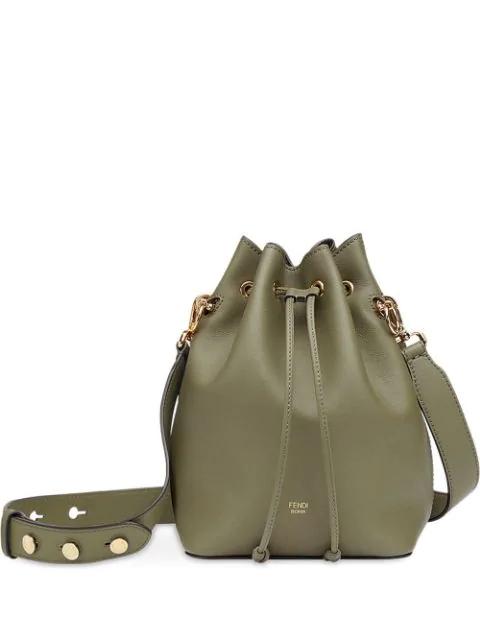 Fendi Mon Tresor Bucket Bag In Green