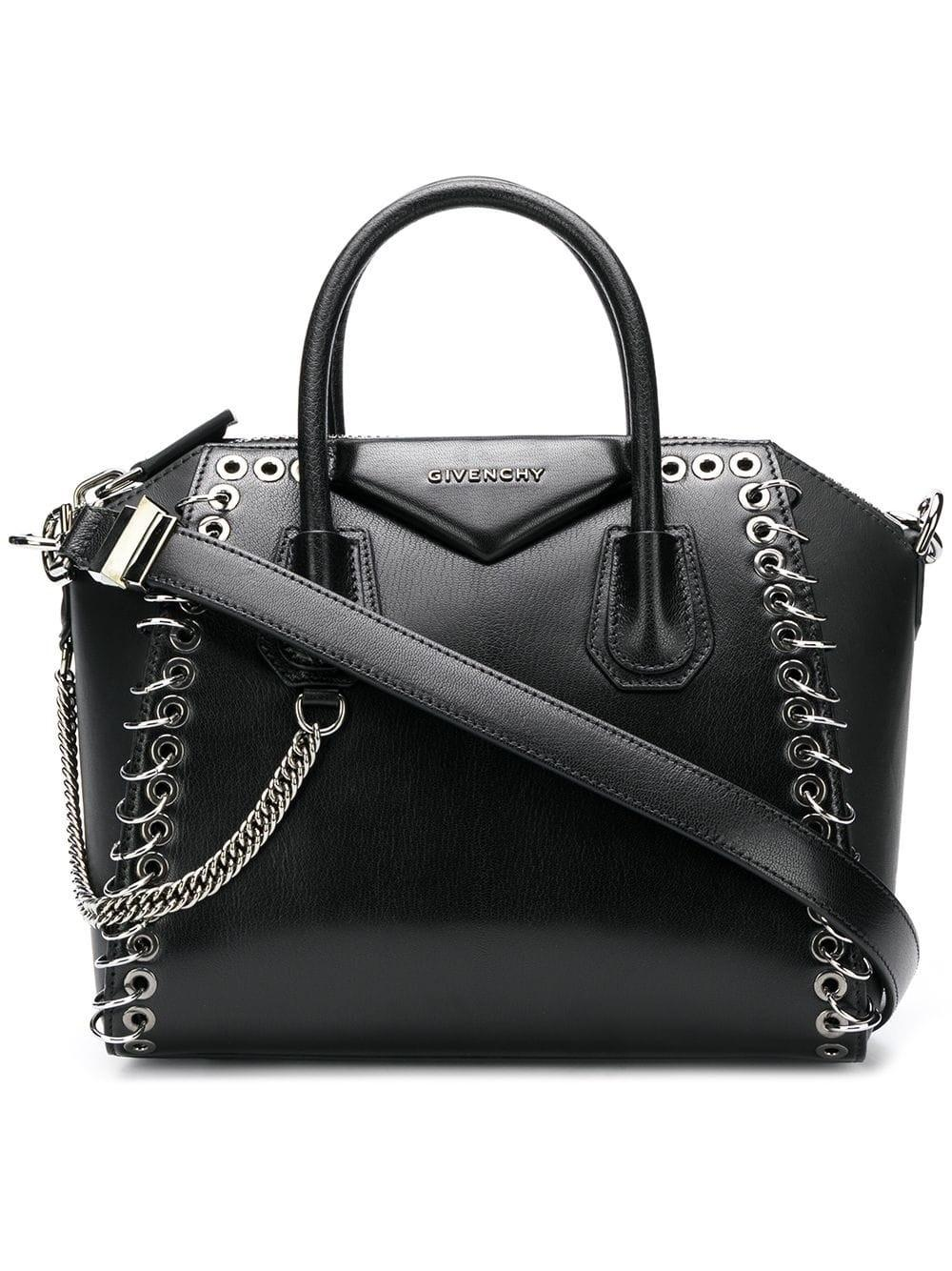 Givenchy Small Antigona Eyelet Tote