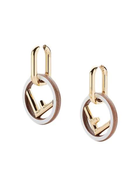Fendi F Is For  Earrings - Metallic