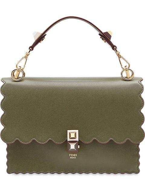 Fendi Kan I Shoulder Bag - Green