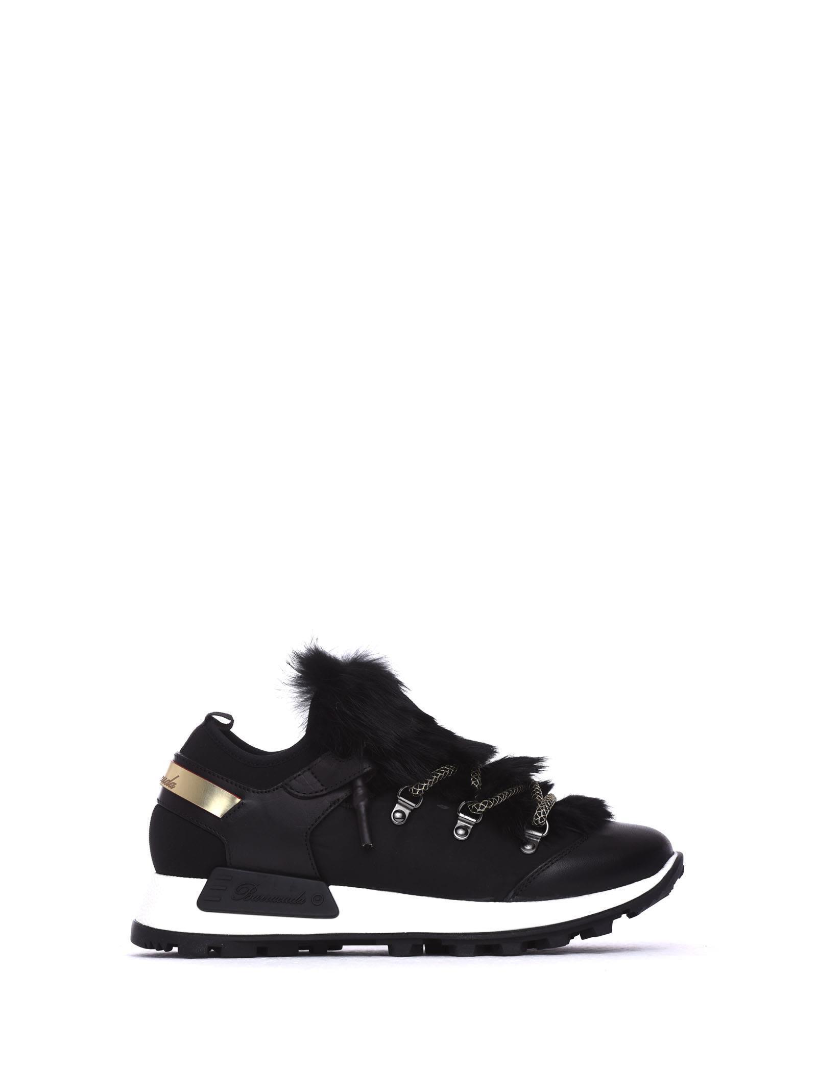 Barracuda Denali Black Sneakers In Nero