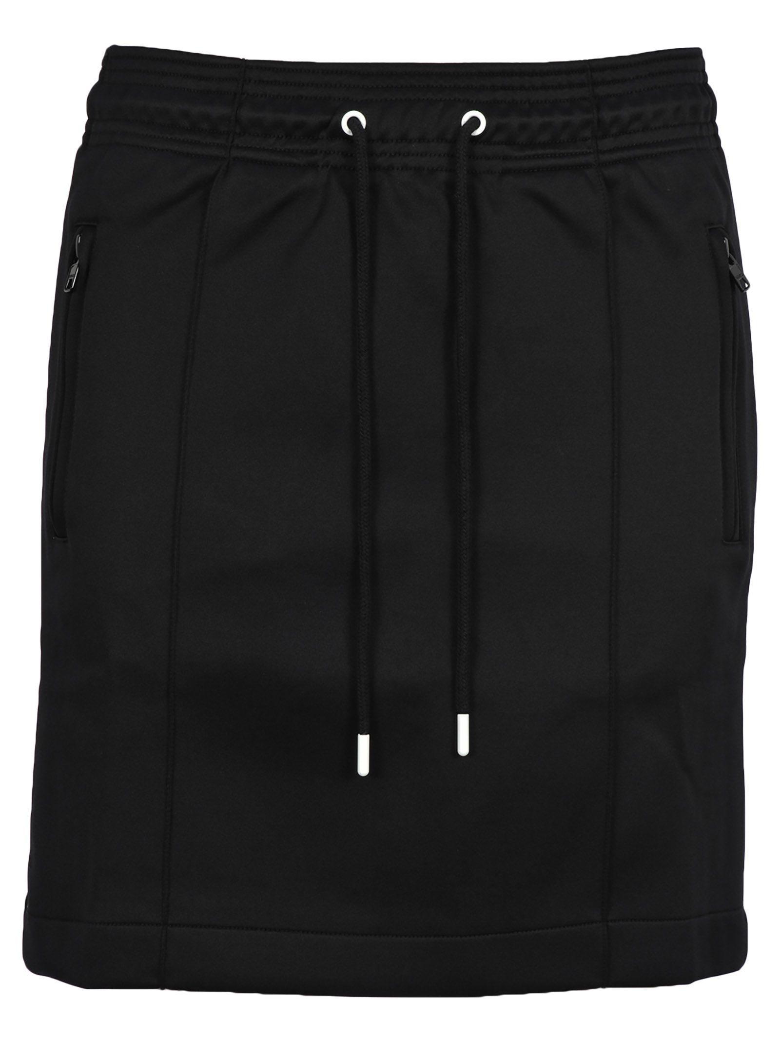 Kenzo Black Nylon Skirt