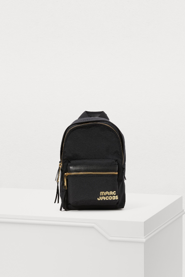 Marc Jacobs Mini Trek Nylon Backpack - Black