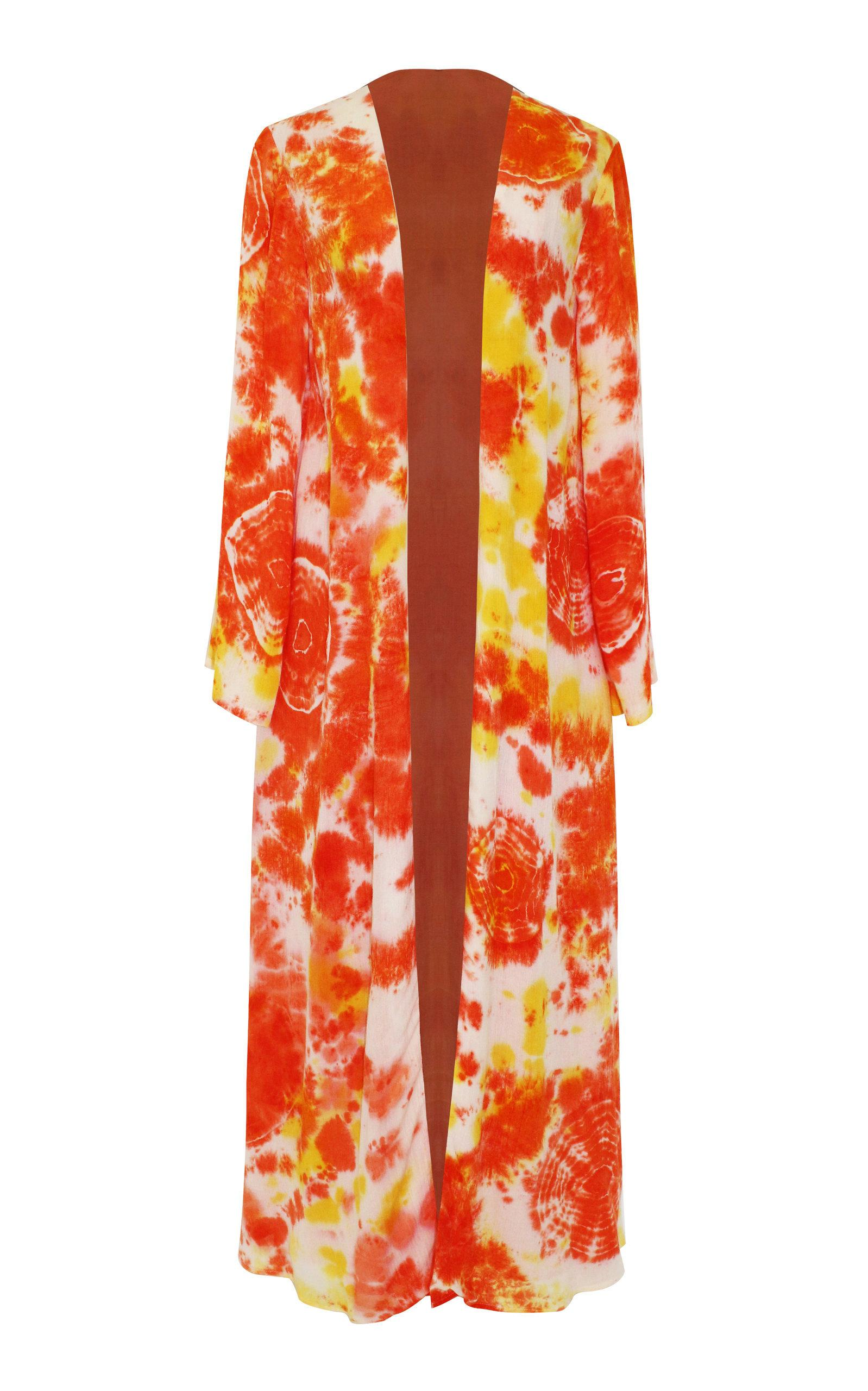 All Things Mochi Louma Robe In Orange