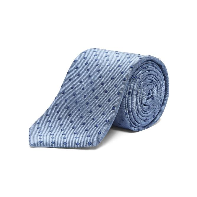 Chester Barrie Coloured Polka Dot Tie In Blue