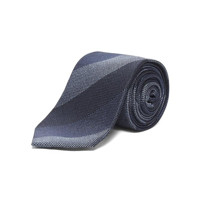 Chester By Chester Barrie Tonal Stripe Tie In Blue