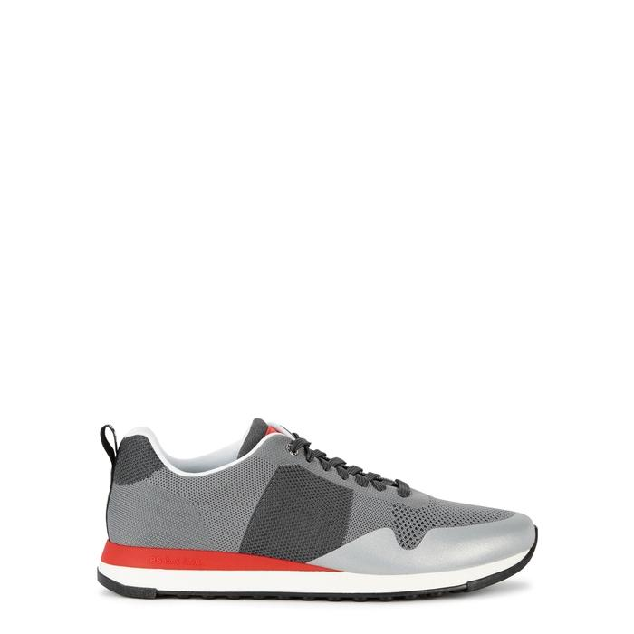 Paul Smith Rappid Grey Knitted Trainers