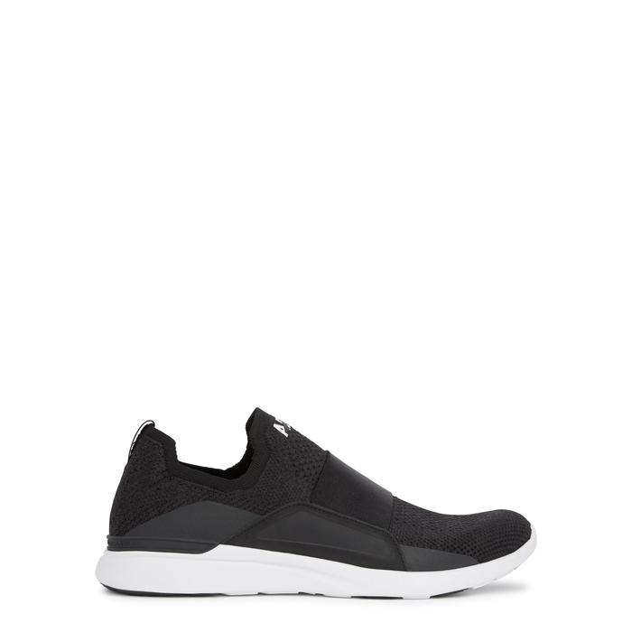 Apl Athletic Propulsion Labs Techloom Bliss Black Knitted Sneakers