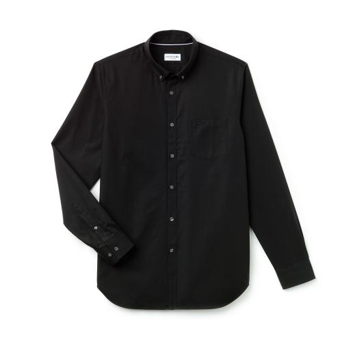 Lacoste - Men S Long Sleeves Woven Shirt