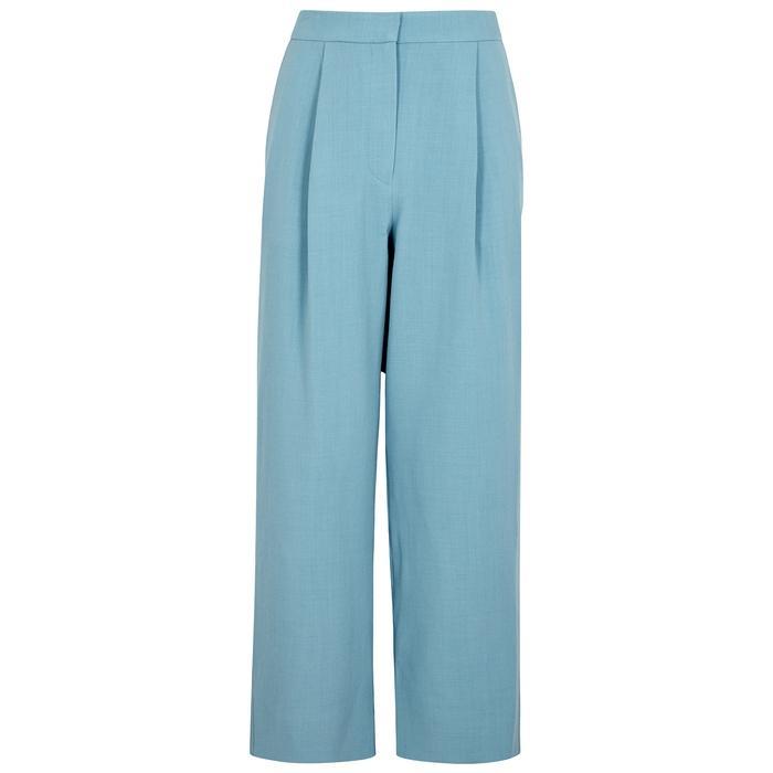 Roksanda Radela Blue Wide-leg Trouses