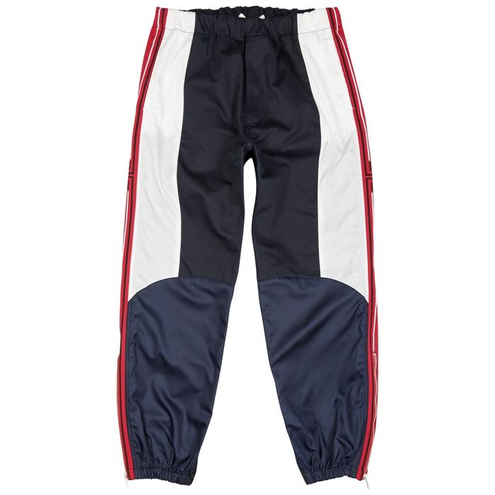 Givenchy Navy Panelled Cotton Sweatpants