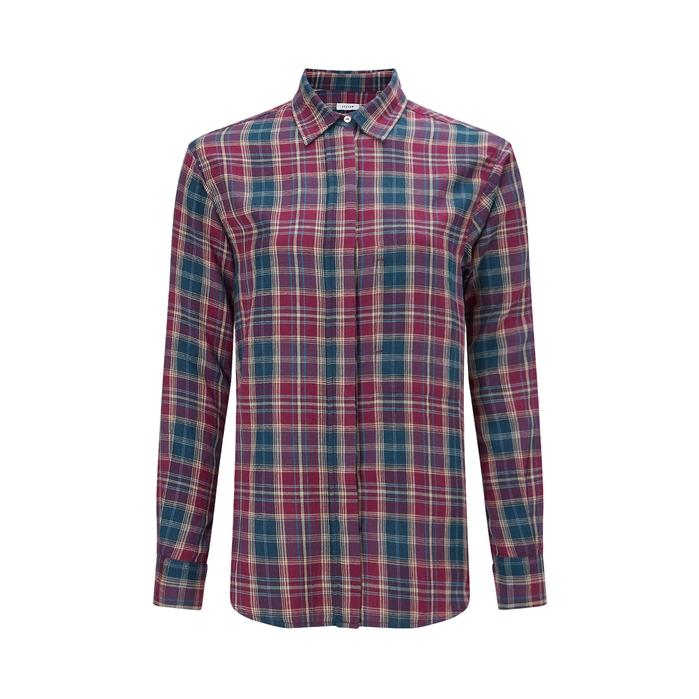 Jigsaw Check Cotton Shirt