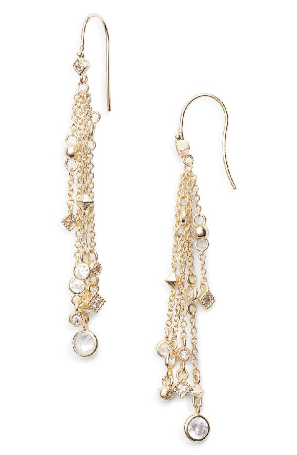 Kendra Scott Wilma Tassel Drop Earrings In Gold