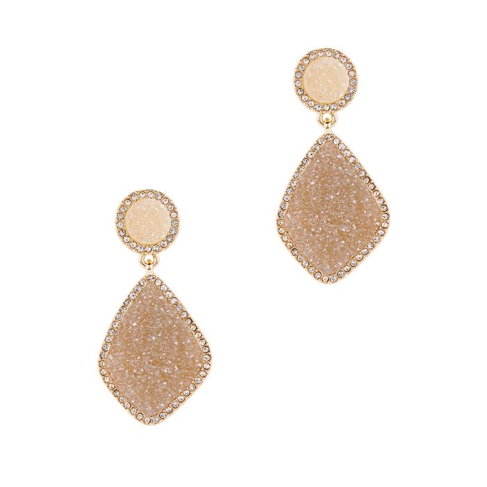 Baublebar Ember Gold-plated Drop Earrings In Grey